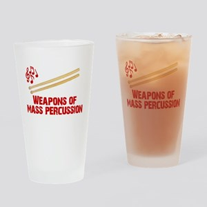 Weapons of Mass Percussion Drum Band Drinking Glas